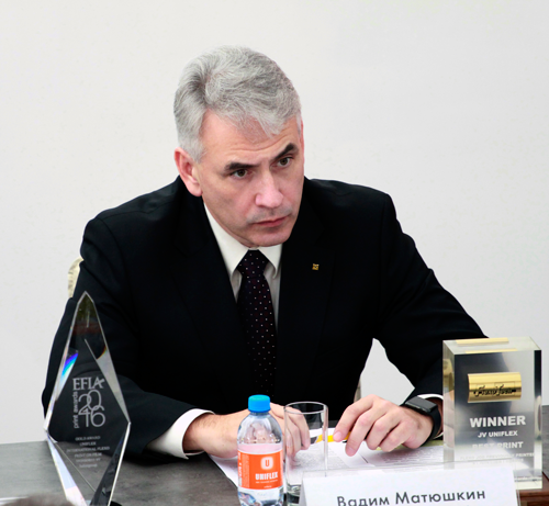 Vadim Matyushkin, Deputy Chairman of the Priorbank Board