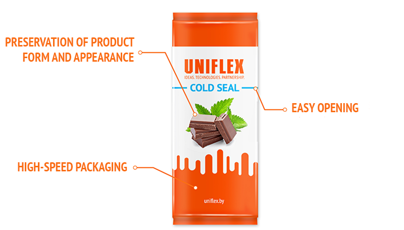 Uniflex Cold Seal packaging