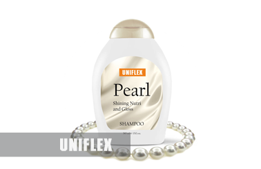 Uniflex shampoo label