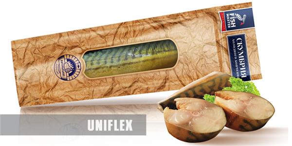 Award-winning flexible packaging for fish and seafood