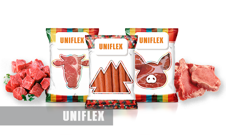 Packaging for sausages and meat snacks